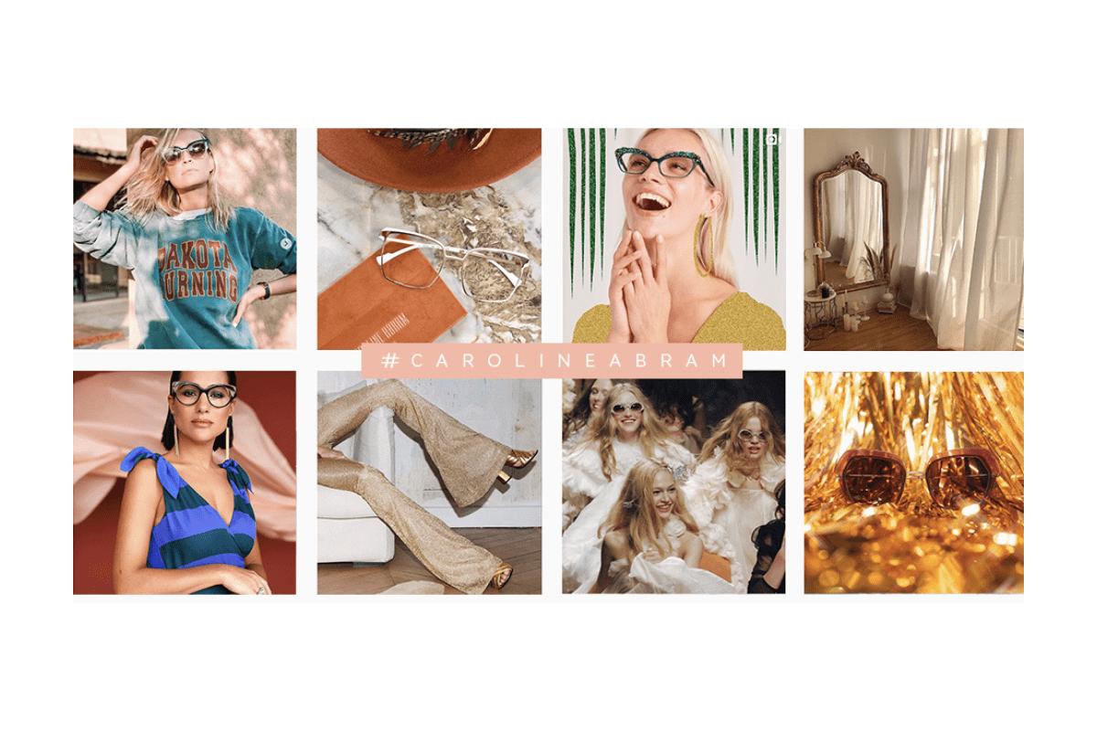 Auswahl an Fotos von Caroline Abram mit Frauen und Brillen