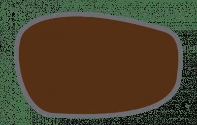 Darstellung eines Brillenglases mit 95 prozentiger Absorption des Lichts.